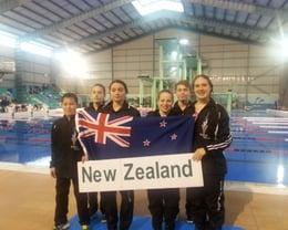 Divers representing NZ